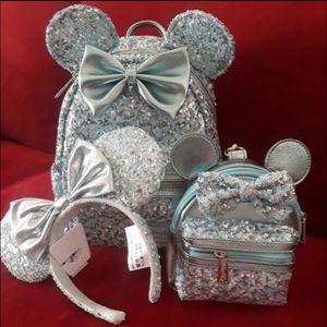 Disney loungefly 3pc Arendelle set